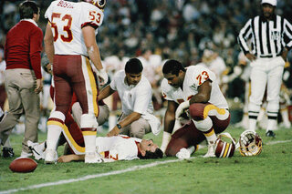 Joe Theismann, Mark May