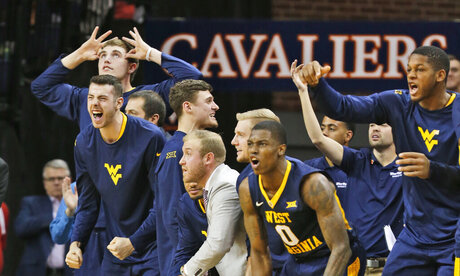 West Virginia Virginia Basketball