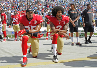 Kaepernick Reid Settlement Football