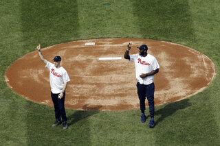 Padres Philles Baseball