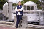 Jason Prats poses in Fort Lauderdale, Fla., Dec. 11, 2020. Prats thinks Biden will be a