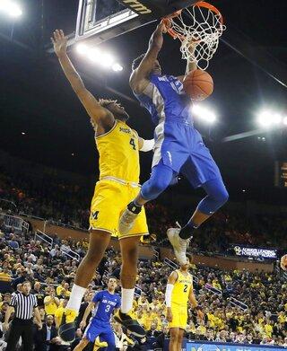 Air Force Michigan Basketball