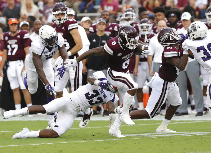 Stephen F. Austin at Mississippi State 9/1/2018