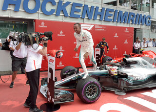 Germany F1 Hungarian GP