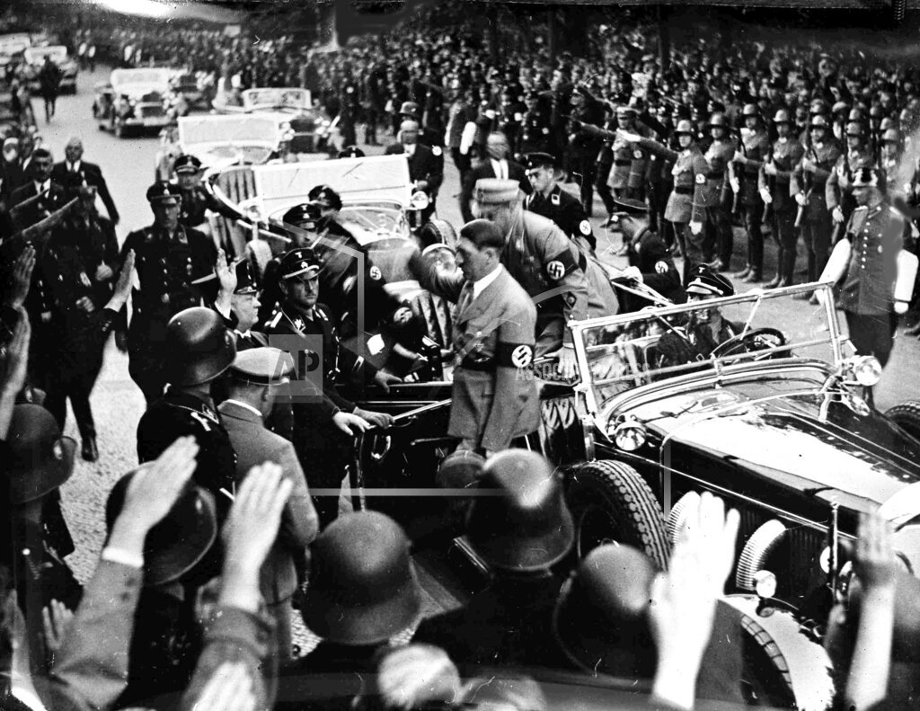 Watchf Associated Press International News   Germany APHSL100336 Berlin Adolf Hitler
