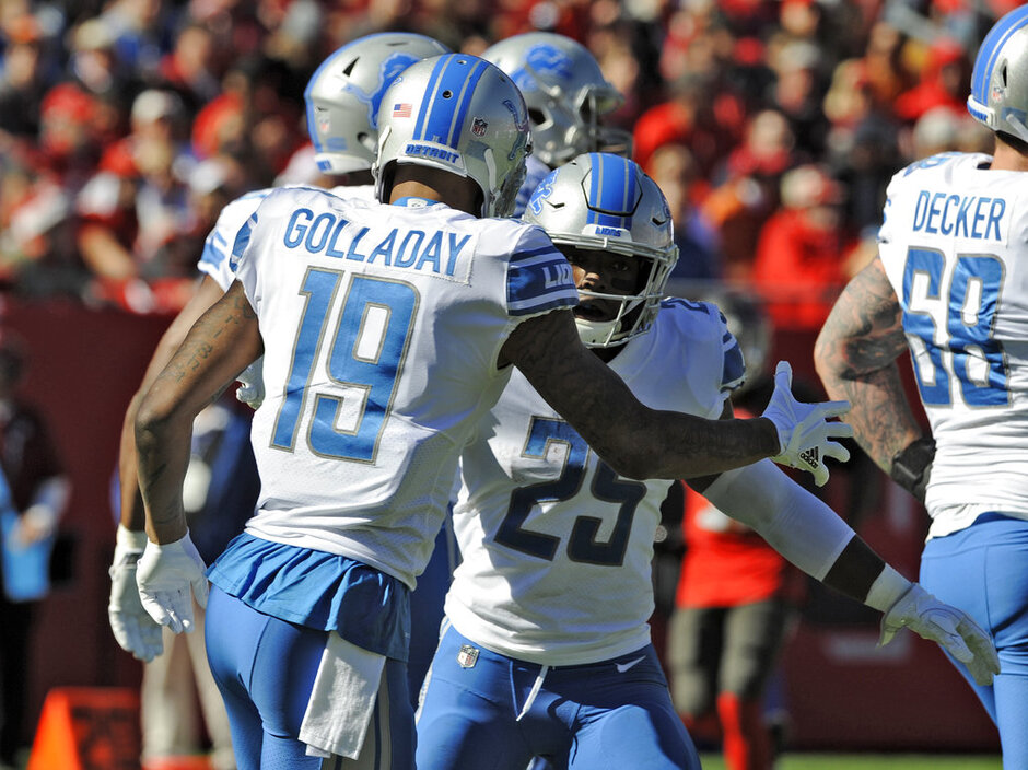 Theo Riddick, Kenny Golladay