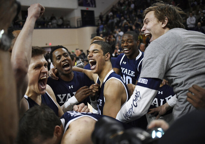 Copeland, Yale beat Harvard for Ivy League title, NCAA berth