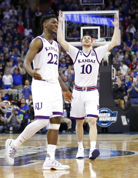 NCAA Duke Kansas Basketball