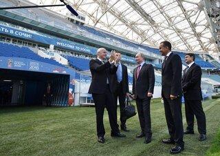 Russia Soccer WCup Sochi