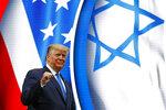 President Donald Trump walks onstage to speak at the Israeli American Council National Summit in Hollywood, Fla., Saturday, Dec. 7, 2019. (AP Photo/Patrick Semansky)