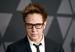 FILE - James Gunn arrives at the 9th annual Governors Awards on Nov. 11, 2017, in Los Angeles. Gunn turns 55 on Aug. 5. (Photo by Jordan Strauss/Invision/AP, File)