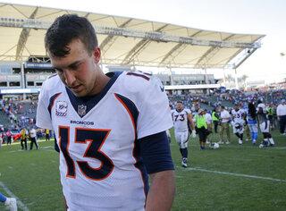 Reeling Broncos Football