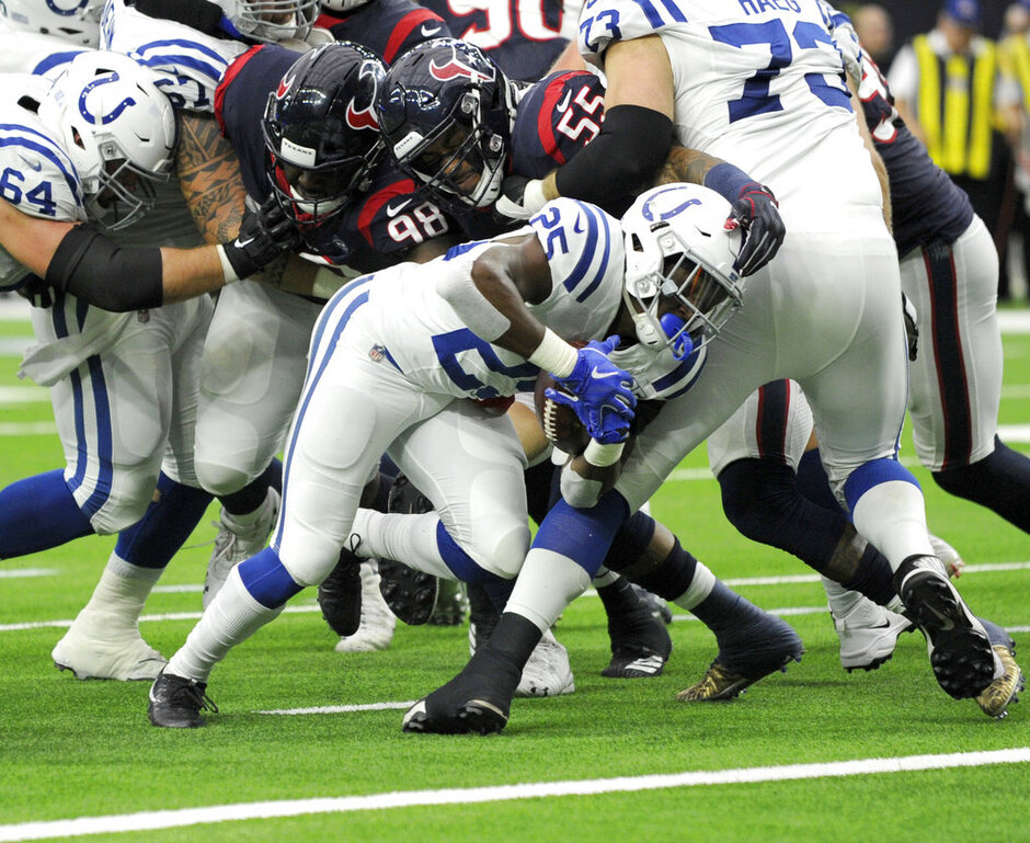 Colts Texans Football