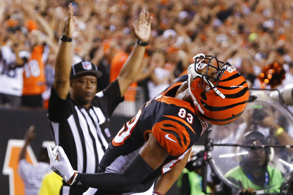 Bengals Boyd Emerges Football