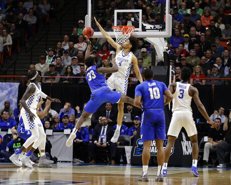 NCAA Buffalo Kentucky Basketball