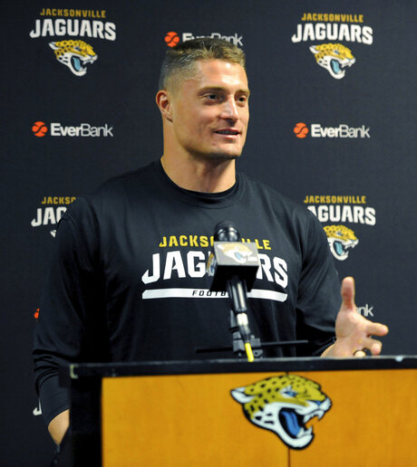 Jaguars Poluszny Retires  Football