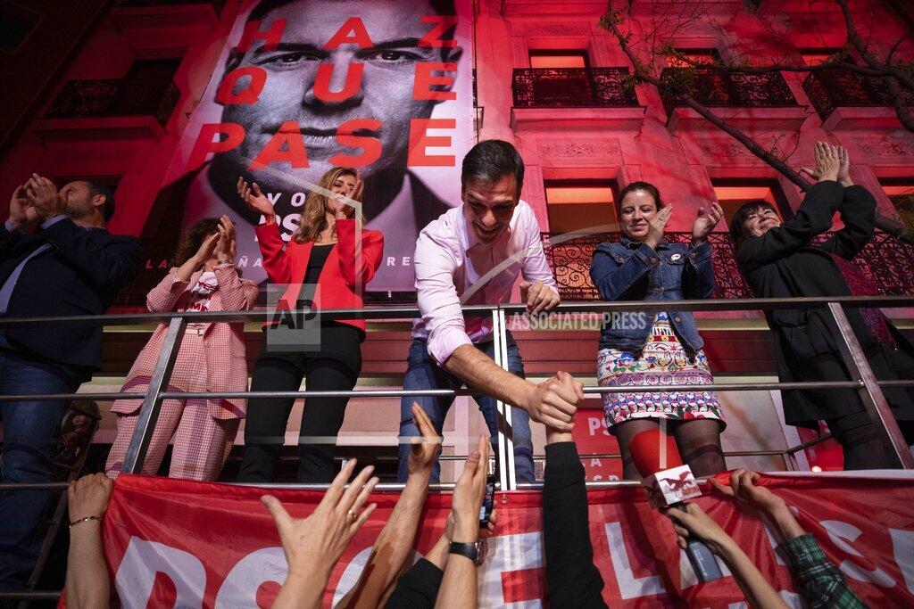 APTOPIX Spain Election