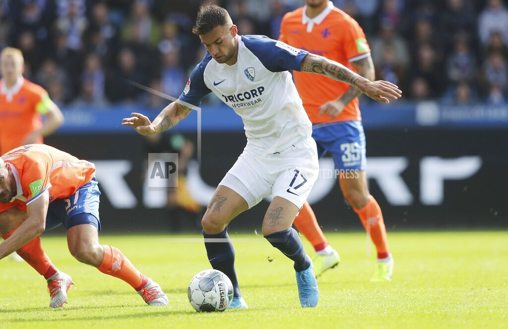 firo: 28.09.2019, football, 2.Bundesliga, season 2019/2020, VfL Bochum - Darmstadt 98