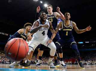 APTOPIX Final Four Michigan Villanova Basketball