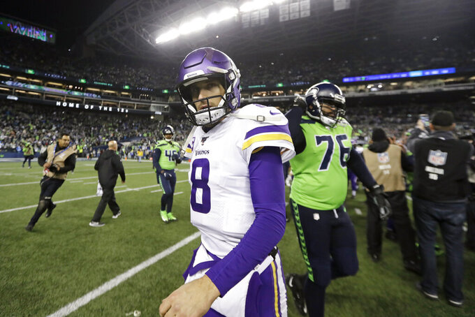 Vikings can't finish another 2nd half rally in 37-30 loss