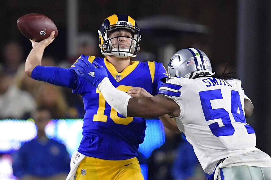 Cowboys Rams Football