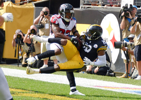 APTOPIX Falcons Steelers Football