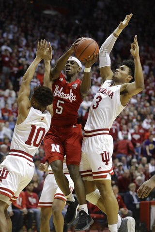 Nebraska Indiana Basketball