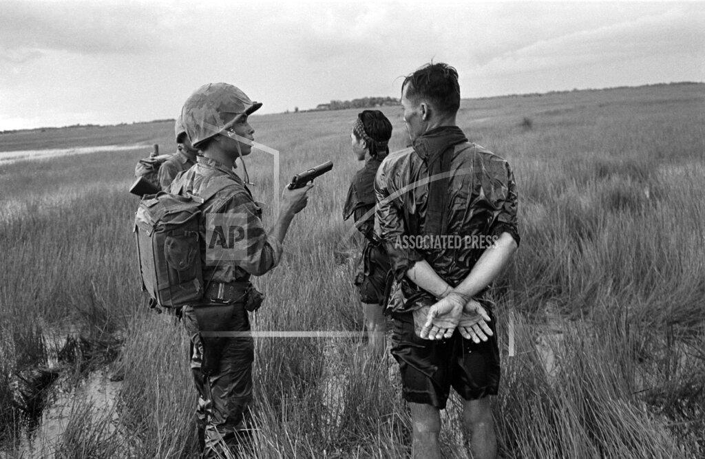 Watchf AP I   VNM APHS89407 Vietnam War Viet Cong Prisoners