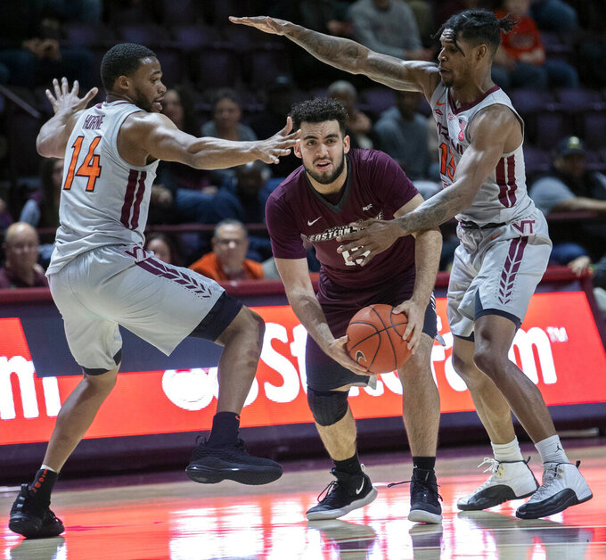 Maryland-Eastern Shore Hawks at Virginia Tech Hokies 12/28/2018