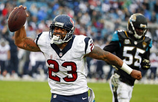 Arian Foster, Geno Hayes