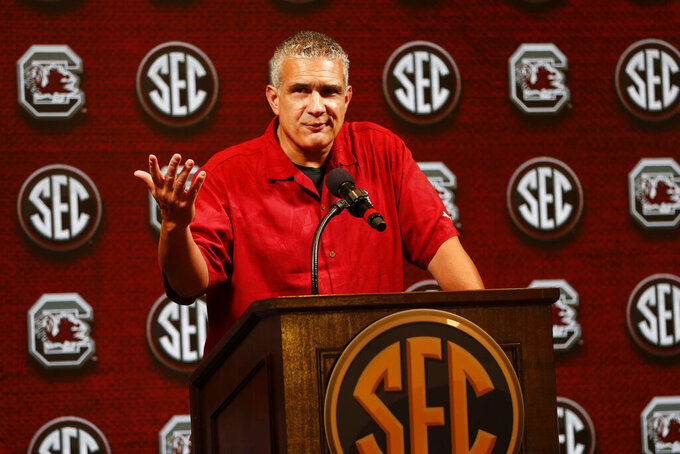 South Carolina's Frank Martin welcomes back familiar roster
