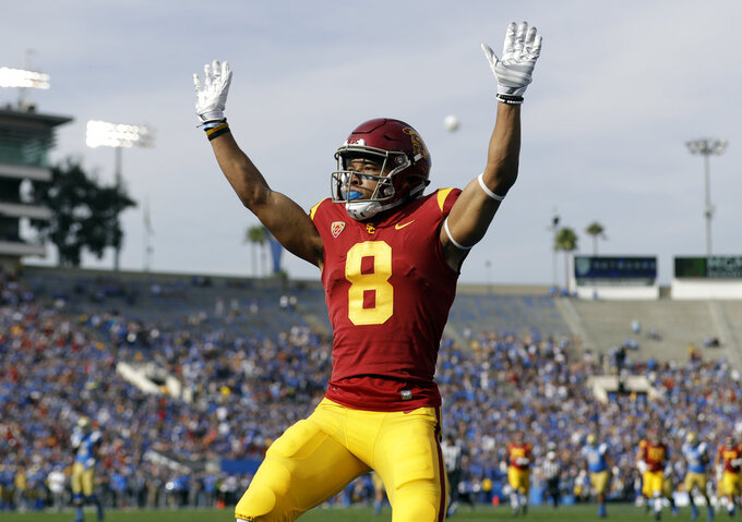 USC WR Amon-Ra St. Brown is ahead of the curve as a freshman