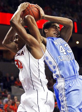 North Carolina Virginia Basketball
