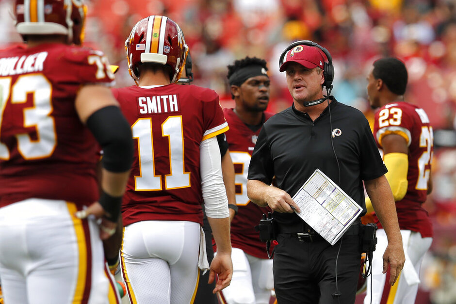 Alex Smith, Jay Gruden, Week 13