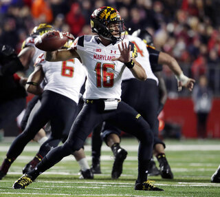Maryland Quarterbacks Football