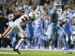 North Carolina wide receiver Dyami Brown, right, runs past Virginia safety De'Vante Cross during the first half of an NCAA college football game Saturday, Nov. 2, 2019, in Chapel Hill, N.C. (Robert Willett/The News & Observer via AP)/The News & Observer via AP)