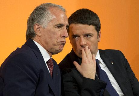 Matteo Renzi, Giovannni Malago'