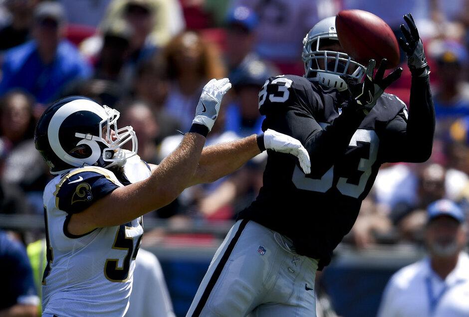 Raiders Rams Footbal