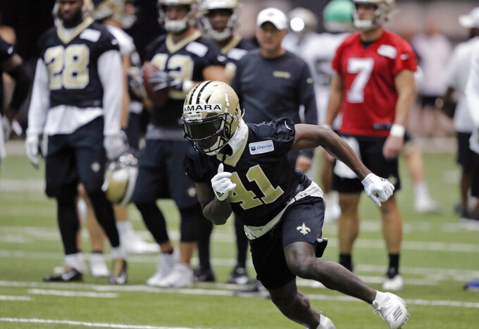 Saints' Kamara aims to expand his game as 3rd season nears