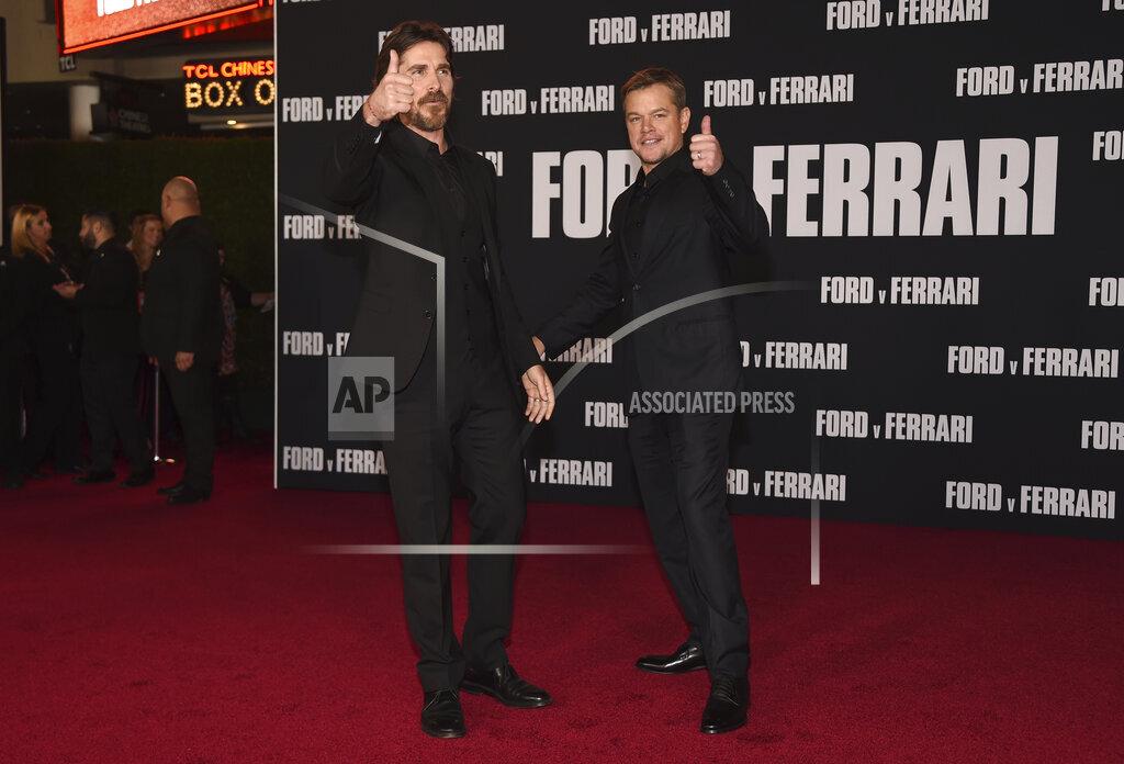 "LA Premiere of ""Ford v Ferrari"""
