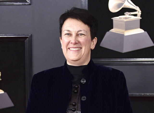 FILE - This Jan. 28, 2018 file photo shows composer Jennifer Higdon at the 60th annual Grammy Awards in New York. Higdon has been commissioned by Opera Philadelphia to compose