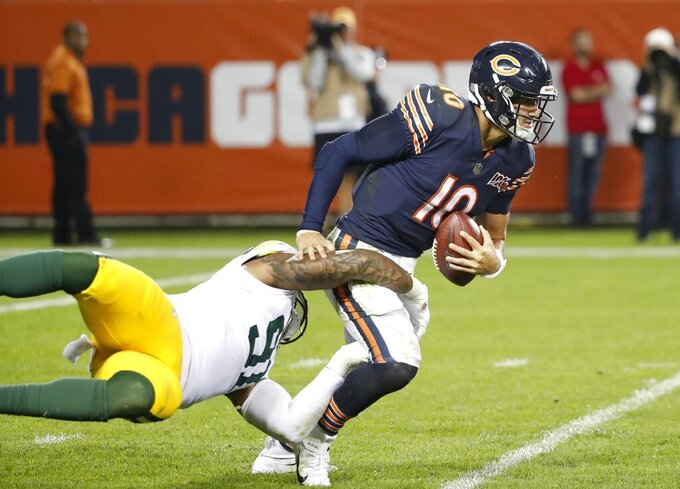 Bears QB Mitchell Trubisky attempts to bounce back again