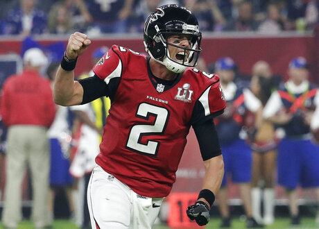 Falcons Ryan Football