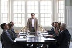 """This image released by Hulu shows Michael Stuhlbarg, center, in a scene from """"Dopesick,"""" an eight-part miniseries about America's opioid crisis, premiering Wednesday with three episodes. (Gene Page/Hulu via AP)"""