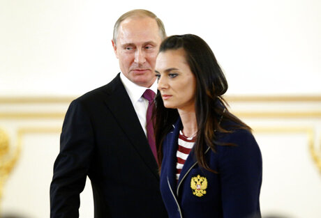 Vladimir Putin, Yelena Isinbayeva