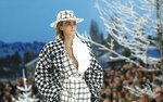 FILE - Model Cara Delevingne wears a creation as part of the Chanel ready to wear Fall-Winter 2019-2020 collection, that was presented in Paris on March 5, 2019. Delevingne turns 28 on Aug. 12. (AP Photo/Thibault Camus, File)