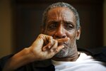 In this July 2, 2008 photo, actor Thomas Jefferson Byrd appears during a portrait session in Atlanta. Police say Byrd, known for his roles in many Spike Lee films and who was nominated for a Tony Award in 2003,  was shot dead in Atlanta on Saturday. He was 70. (Marcus Yam/Atlanta Journal-Constitution via AP)