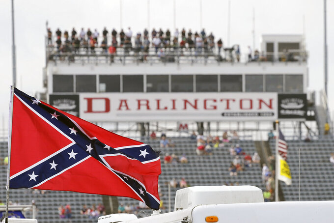 NASCAR bans Confederate flag from its races, venues