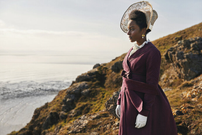 This image released by PBS shows Crystal Clarke as Miss Lambe from the series MASTERPIECE: Sandition,