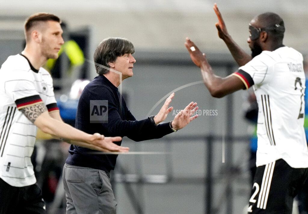 Germany Latvia Soccer